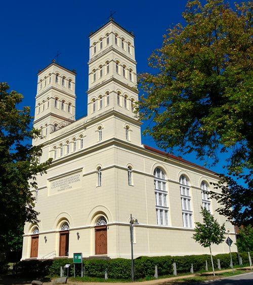 Schinkel Kirche in Straupitz