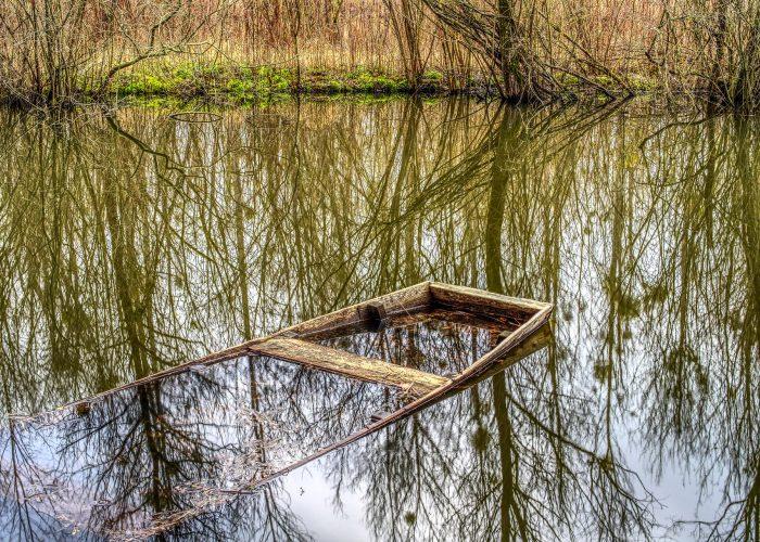 Altes Spreewaldboot